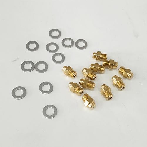 Комплект форсунок на сжиженный газ (LPG) G30/31