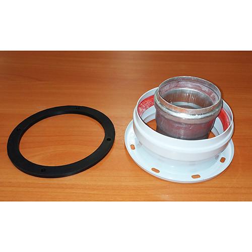 Адаптер коаксиальный вертикальный D 60/100 мм