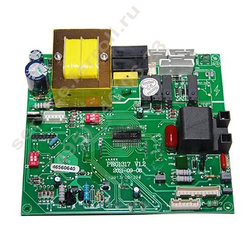 Силовые компоненты панели управления PCB